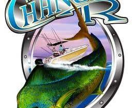 Nro 84 kilpailuun Boat + Fishing Shirt Design käyttäjältä kaushalyasenavi