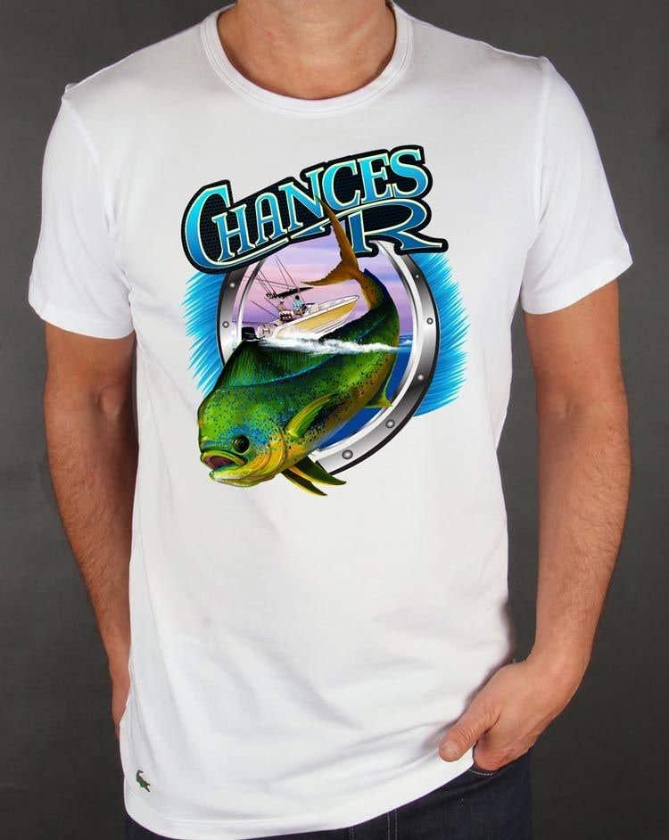 Kilpailutyö #                                        85                                      kilpailussa                                         Boat + Fishing Shirt Design