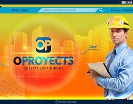 #42 for home (solo diseño)de una web de  empresa construcción y proyectos. Necesito transmitir seguridad, elegancia, profesionalidad adjunto imagen de logo.  Acepto modificaciones del estilo del logo by Olivaresmoy