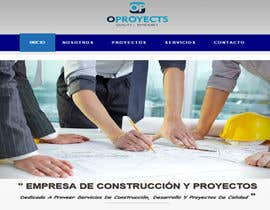 rodriguezdelymar tarafından home (solo diseño)de una web de  empresa construcción y proyectos. Necesito transmitir seguridad, elegancia, profesionalidad adjunto imagen de logo.  Acepto modificaciones del estilo del logo için no 14