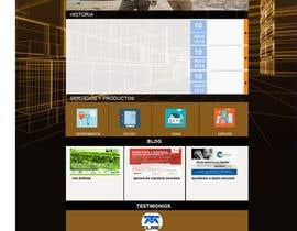 #47 for home (solo diseño)de una web de  empresa construcción y proyectos. Necesito transmitir seguridad, elegancia, profesionalidad adjunto imagen de logo.  Acepto modificaciones del estilo del logo by amoran87