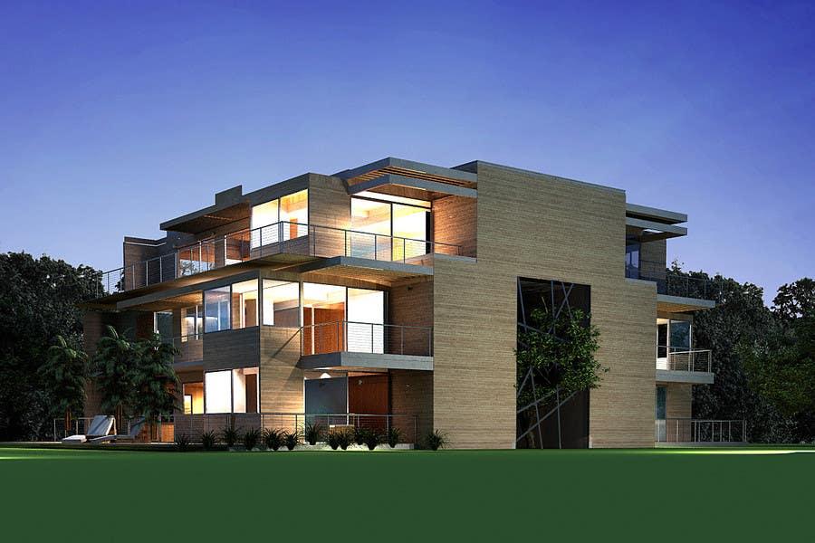 Proposition n°                                        50                                      du concours                                         Condominium Building Design
