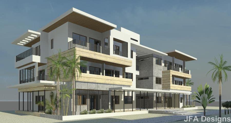 Proposition n°                                        42                                      du concours                                         Condominium Building Design