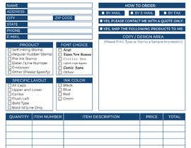 #32 for Redesign a PDF Order Form by azizulbeceee01