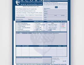 #47 for Redesign a PDF Order Form by clickgraphicsbd