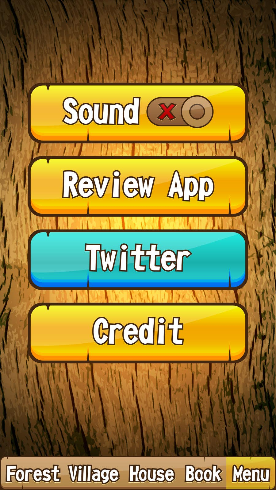 Contest Entry #                                        17                                      for                                         Forest Theme GameUI Design ( Only one screen )