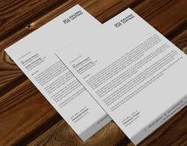 Nro 187 kilpailuun A4 letterhead design käyttäjältä atikchowdhury55