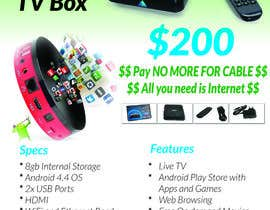 "#4 para Design a simple 4"" x 6"" Flyer for Android TV Boxes por ismathstyle"