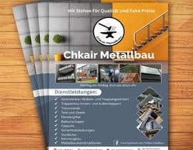 Nro 35 kilpailuun I need a business card and a flyer for a client. käyttäjältä jahidmal01
