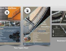 Nro 201 kilpailuun I need a business card and a flyer for a client. käyttäjältä mostafizur436