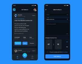 #43 for Design 4 mobile app screens by dexterxoxo