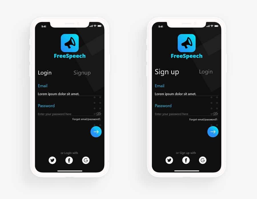 Contest Entry #                                        15                                      for                                         Design 4 mobile app screens