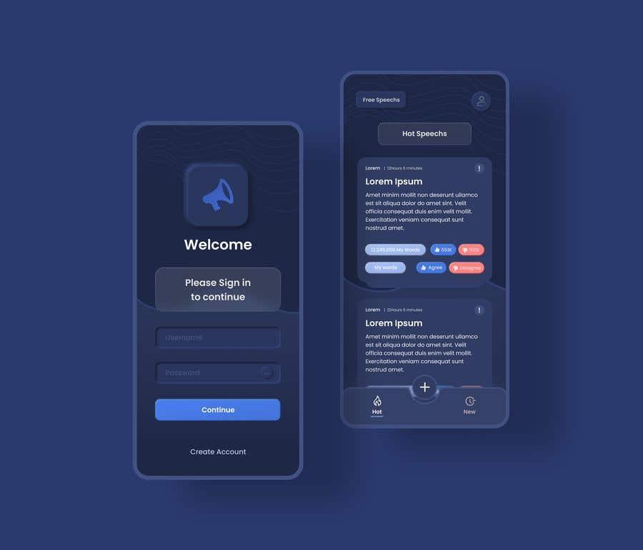 Contest Entry #                                        35                                      for                                         Design 4 mobile app screens