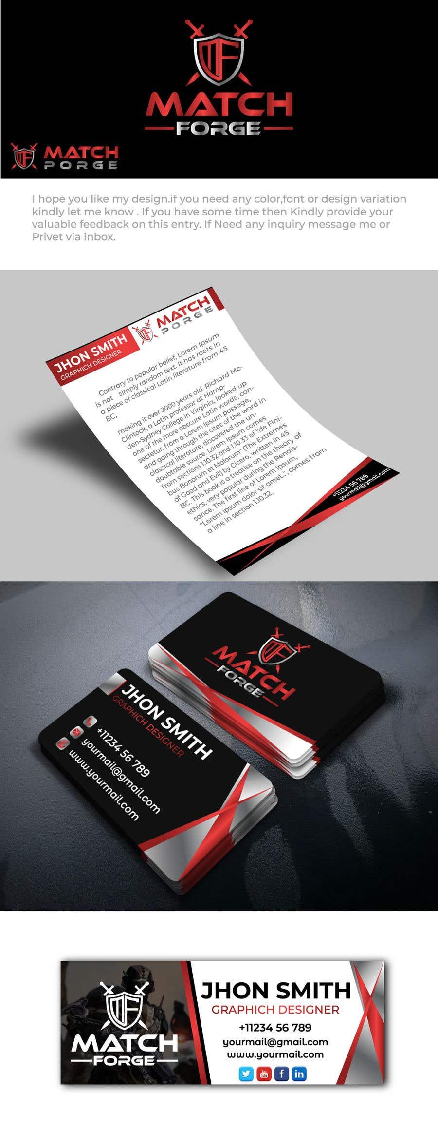 Penyertaan Peraduan #                                        114                                      untuk                                         Design a logo + Business Card + Letterhead + Branding + Social Media etc. (Gaming, Hosting, Panel, Dashboard, Product)
