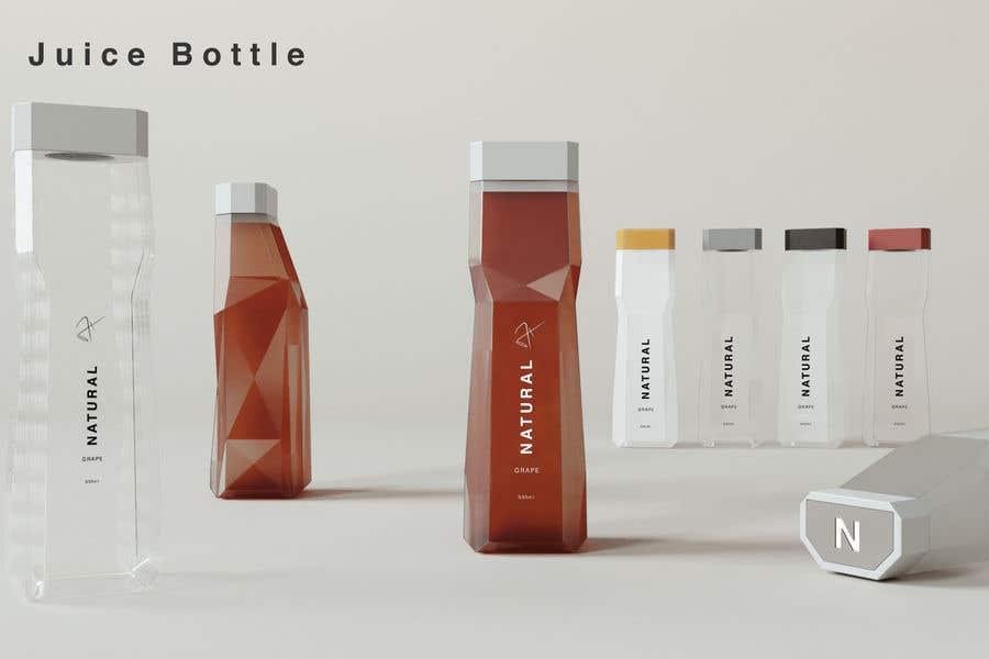 Proposition n°                                        127                                      du concours                                         juice bottle design