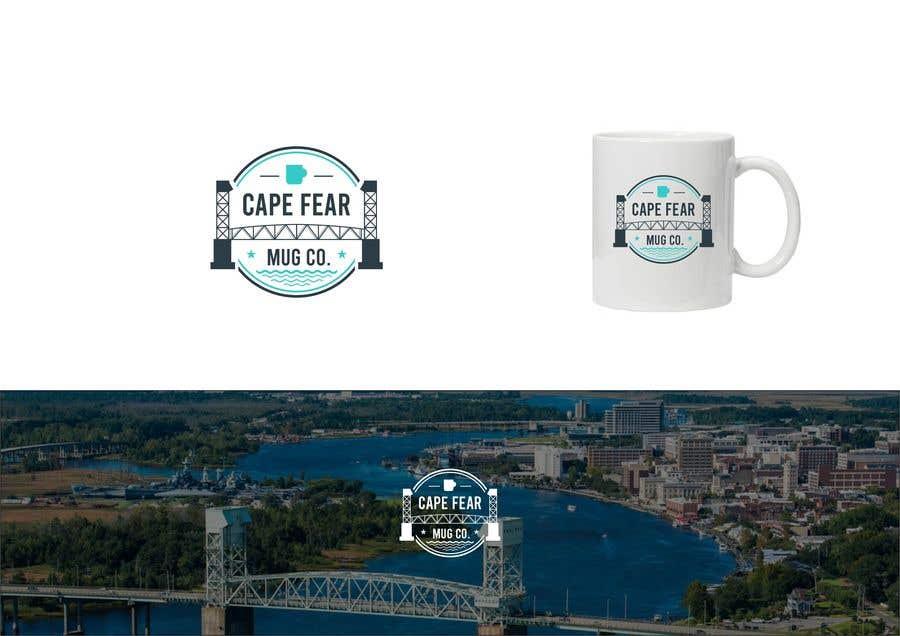 Bài tham dự cuộc thi #                                        131                                      cho                                         Logo Creation - Cape Fear Mug Co.