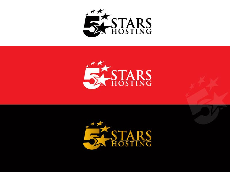 Bài tham dự cuộc thi #48 cho Design a Logo for 5Stars Hosting