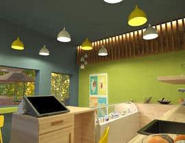 Nro 16 kilpailuun Small shop interior design with 3D käyttäjältä tarekdo7a
