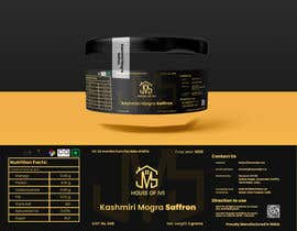 #5 for Brand design for the product container/package - Saffron Threads by whoDanyalahmed