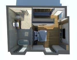 #79 untuk Design my bedroom oleh archvizwork