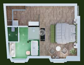 #47 untuk Design my bedroom oleh beehive3dworks