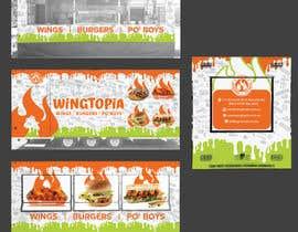#20 for Food Van Design for Fast Food Restaurant af MaxoGraphics