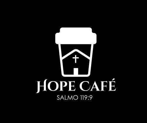 Proposition n°                                        57                                      du concours                                         LOGO / HOPE CAFE
