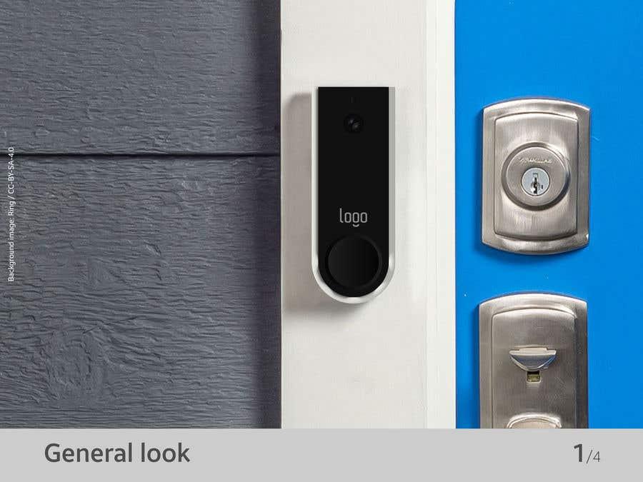 Bài tham dự cuộc thi #                                        39                                      cho                                         Design for doorbell device.
