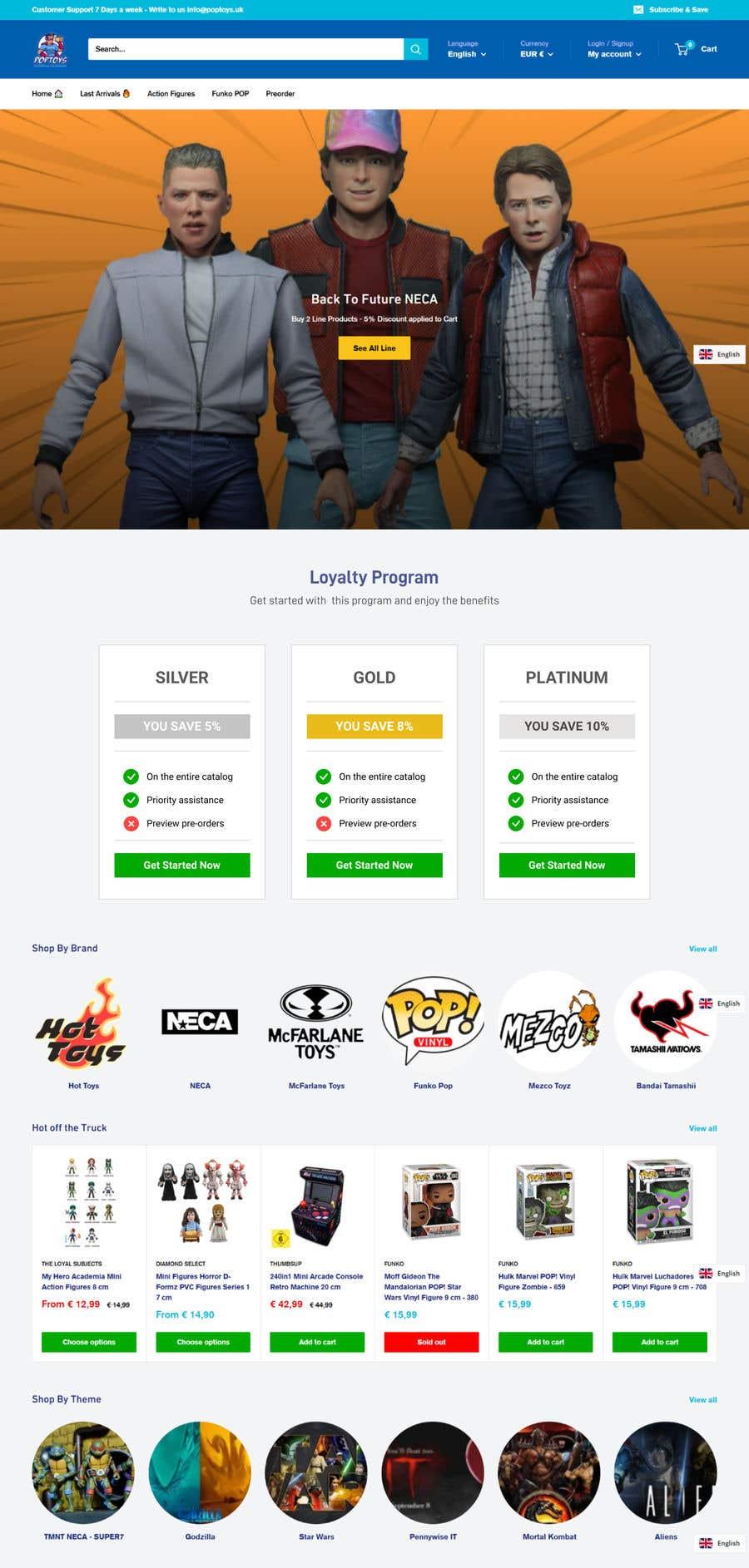 Konkurrenceindlæg #                                        29                                      for                                         Loyalty Program Webpage Presentation