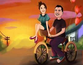 Nro 35 kilpailuun Illustrate a painting of me and my partner käyttäjältä Murkmalik