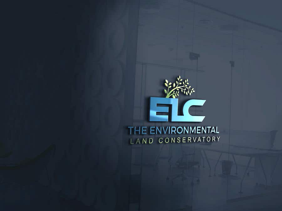 "Intrarea #                                        58                                      pentru concursul ""                                        Logo for ""Environmental Land Conservatory""                                     """