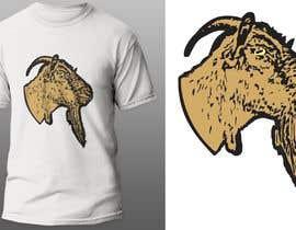 #136 pentru Cool laid back goat head de către KaimShaw