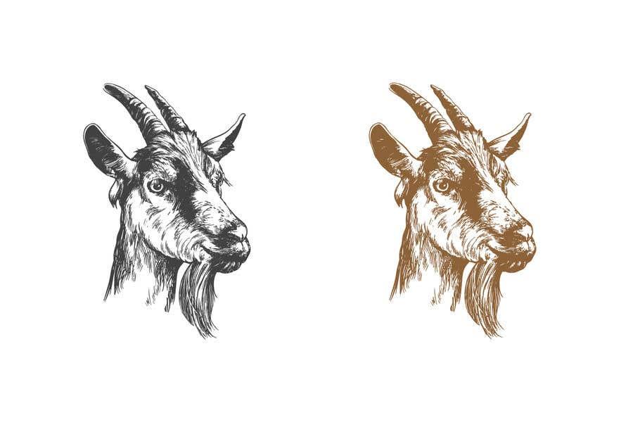 """Intrarea #                                        10                                      pentru concursul """"                                        Cool laid back goat head                                     """""""