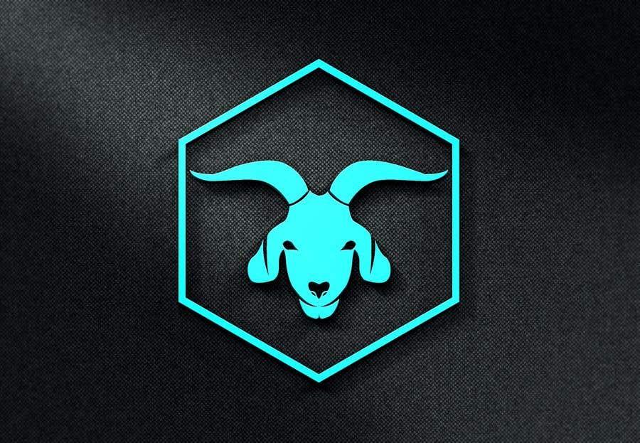 """Intrarea #                                        128                                      pentru concursul """"                                        Cool laid back goat head                                     """""""