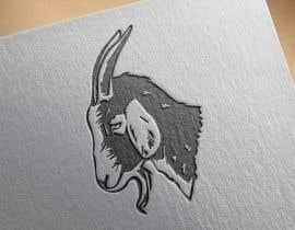 #138 pentru Cool laid back goat head de către Gfxliton