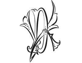 #135 untuk Design Classical Monogram oleh JasminaSV