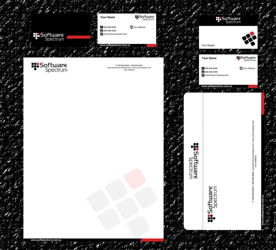 Contest Entry #                                        38                                      for                                         Stationery Design for IT Company