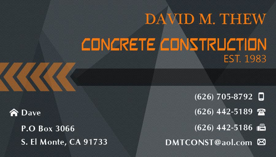 Contest Entry #38 for Business Card Design