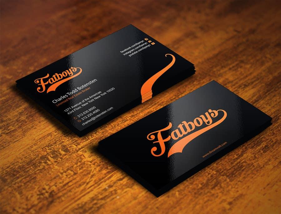 Konkurrenceindlæg #33 for Design some Business Cards for Fatboys