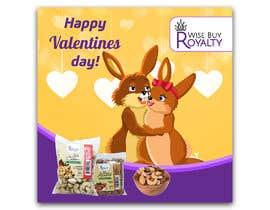 Nro 82 kilpailuun Need 4 facebook / Instagram post for valentines day käyttäjältä dgrmehedihasan