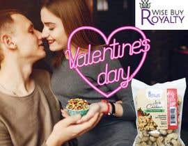 Nro 7 kilpailuun Need 4 facebook / Instagram post for valentines day käyttäjältä sumaaktar227