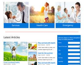 #17 untuk A Website for a Health Insurance Company. oleh rginfosystems