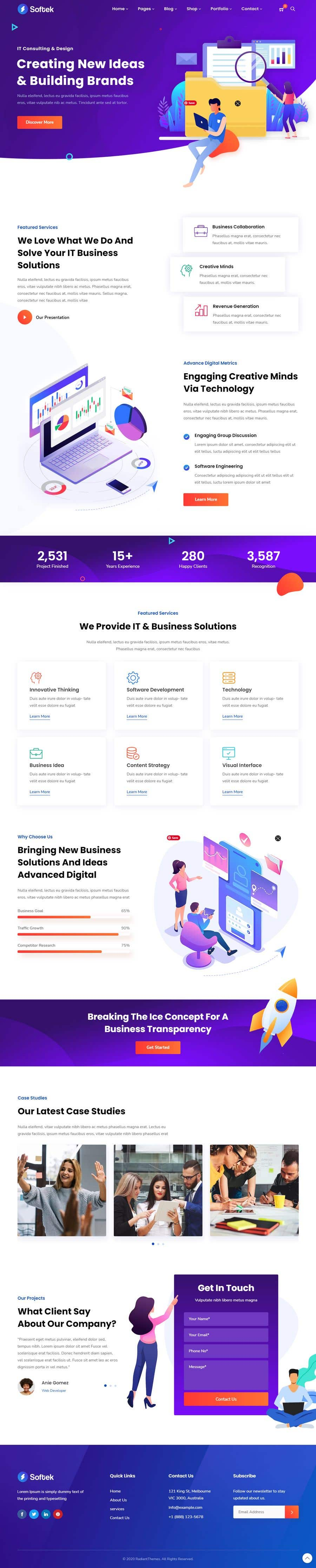 Bài tham dự cuộc thi #                                        58                                      cho                                         I need a Landing Page Website for Small Business Stores