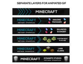#51 for Ad banner for Minecraft server by Nayefhaque