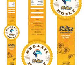#27 for Cover Design 02 _ Honey Bottle Sticker af LaGogga