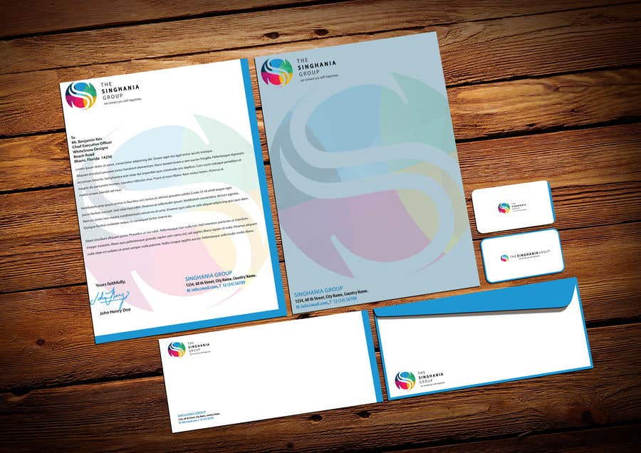 Contest Entry #                                        16                                      for                                         A premium letterhead to be designed.