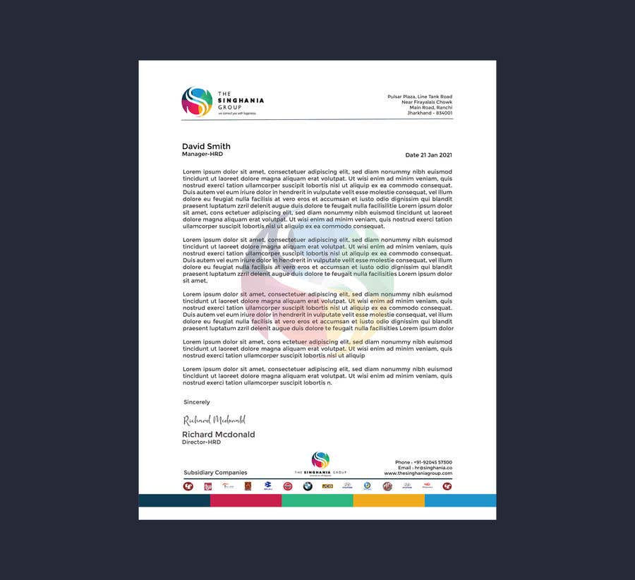 Contest Entry #                                        72                                      for                                         A premium letterhead to be designed.