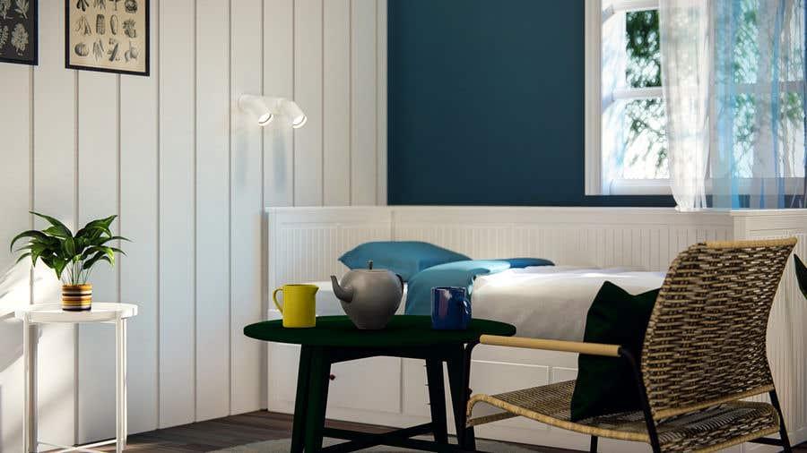 """Intrarea #                                        48                                      pentru concursul """"                                        2 Bed 1 Bath Interior Design Project                                     """""""