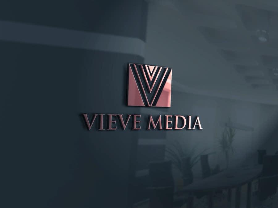 Konkurrenceindlæg #                                        55                                      for                                         Design a Logo for Vieve Media