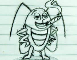 #63 pentru Roach Cartoon Character for a new website - 20/01/2021 20:06 EST de către DayArts2405